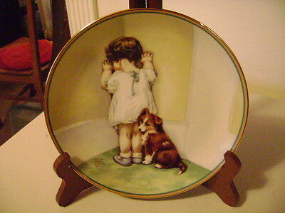 In Disgrace  Ist Issue In A Childs Best Friend Hamilton Collection Plate 4014Ee