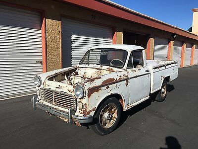 1962 Datsun Other  1962 Datsun 320 Small Pick Up Patina Clean Title