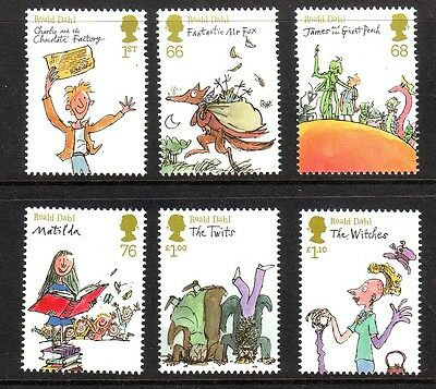 2012 Roald Dahl Set U/m - Below Face