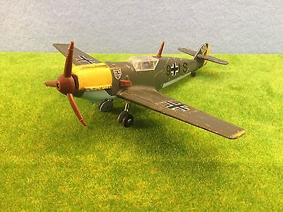 Dinky Toys Vintage Messerschmitt BF109E European Version.