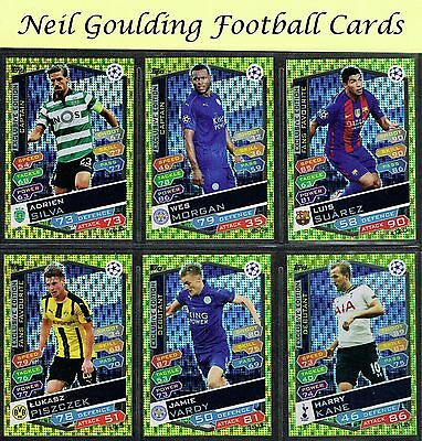 Champions League MATCH ATTAX 2016/2017 ☆☆☆☆☆ EXCLUSIVE EDITION Cards ☆☆☆☆☆