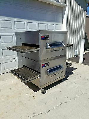 """Middleby Marshall PS200 Gas Double Stack Conveyor Pizza Oven BELT WIDTH 32"""""""