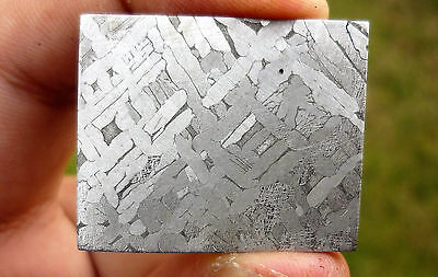 15.4 gram Etched Toluca Meteorite Slice -  from Mexico
