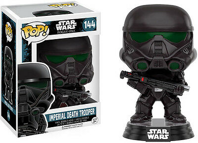 Rogue One - Imperial Death Trooper - Funko Pop! Star Wars (2016, Toy New)