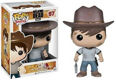 The Walking Dead - Carl - Funko Pop! Television (2014, Toy New)