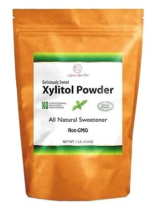 Xylitol Sweetener Powder 100% Pure Crystals NON GMO Sugar Alternative