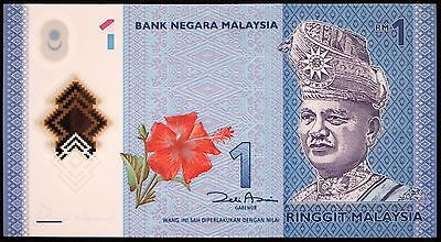 MALAYSIA 2012 1 Ringgit P-51 UNC Polymer Banknote