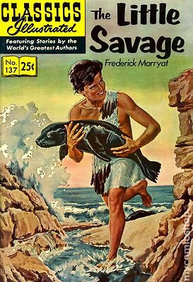 Classics Illustrated 137 The Little Savage (1957) #7 VG 4.0 LOW GRADE