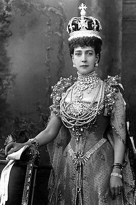 New 4x6 Photo: Alexandra of Denmark, Queen of Great Britain, Wife of Edward VII