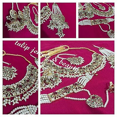 Designer Indian/Pakistani Hollywood Traditional Bridal Jewellery Set Gold Plated