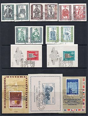 POLAND Old Stamps Collection  USED Ref:QE200