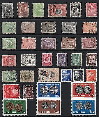 ROMANIA STAMPS Collection USED Issues Ref:QE175