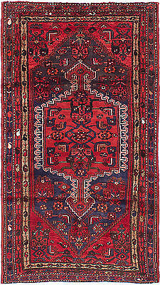 """Hand-knotted Persian Carpet 3'6"""" x 6'4"""" Persian Wool Rug...DISCOUNTED!"""