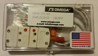 Brand New Omega RTD-809 Encapsulated Temperature Sensor Probe Free Shipping