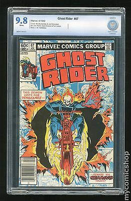 Ghost Rider (1973 1st Series) #67 CBCS 9.8