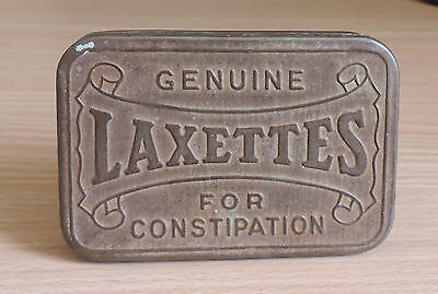 Genuine old  LAXETTES tin