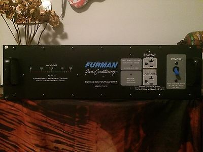 Furman IT-1220 Balanced Power Isolation Transformer