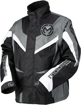 Moose Racing S7 Qualifier Dirt Bike Enduro Offroad Jacket (See Sizes) Black/Grey
