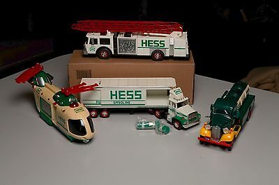 Hess Toy Truck Bundle - + Big Red Fire Truck