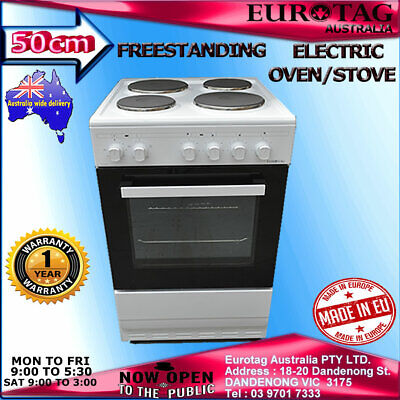 Eurotag 50cm Freestanding Electric Grill Oven  Ceramic Cooktop STOVE  BRAND NEW