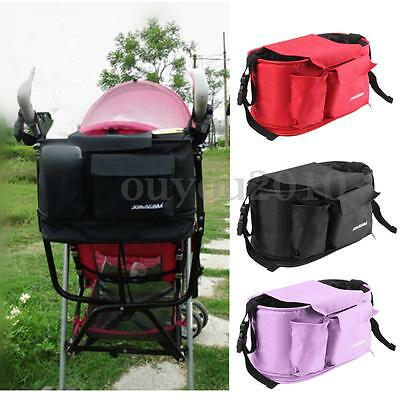 Baby Pram Cart Organizer Bag Holder Stroller Pushchair Storage Universal Buggy