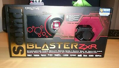 Creative Sound Blaster ZxR PCIe Audiophile Grade Gaming Sound Card