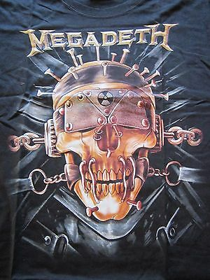 "Megadeth T-shirt size Large ""NEW"""