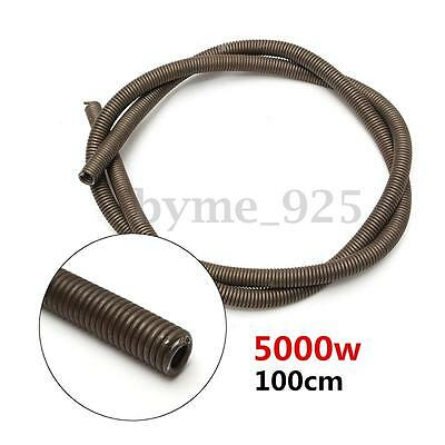 5000W 220V Kiln Furnace Heating Element Coil Resistance Wire 1000mm x 6.4mm