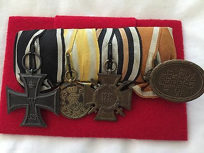 German Ww1 Group Medals