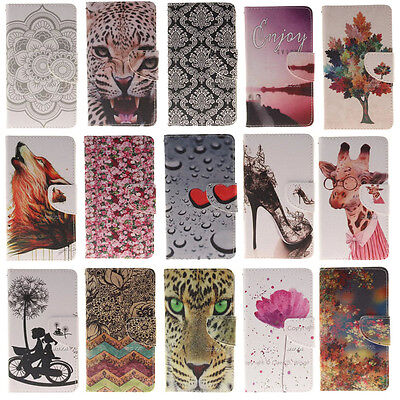 Cute Patterns Case for LG K10 V10 Phones PU Leather Protective Wallet Flip Cover