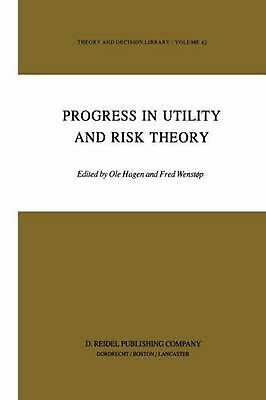 Progress in Utility and Risk Theory (English) Hardcover Book Free Shipping!