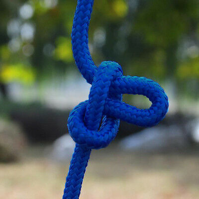 10M Safety Lifeline Climbing Rope Cord Outdoor Escape Practical Climping Rope