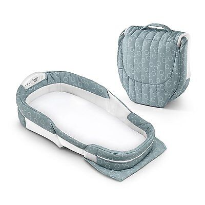 Baby Delight Snuggle Nest Surround, Extra Long, Green
