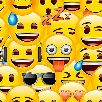 Emoji Wallpaper - Wp4-Emo-Oji-20 Kids Bedroom New Feature Wall Decor Free P+P