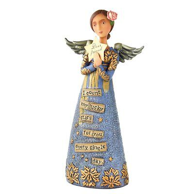Dear Friend Figurine - Kelly Rae Roberts Collection - Enesco Gifts