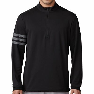 Adidas Golf 2017 Climacool® Competition 1/4 Zip Layering Sweater Mens Cover-up