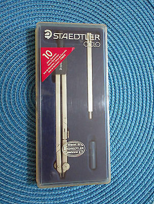 Compasso Staedtler Ciclo Prolunga Bussola Completo Vintage Usato Come Nuovo