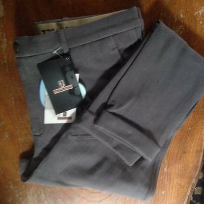 Treadstone Mens Jodhpurs Grey Size 38""