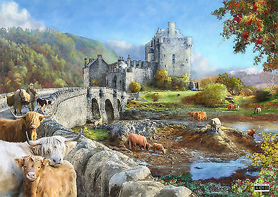 House Of Puzzles Highland Morning - 1000pc Jigsaw Puzzle