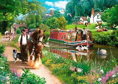 House Of Puzzles Tow Path - 1000pc Jigsaw Puzzle