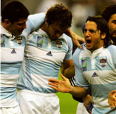 Agustin Pichot - Argentina 10X8 Photo (1)