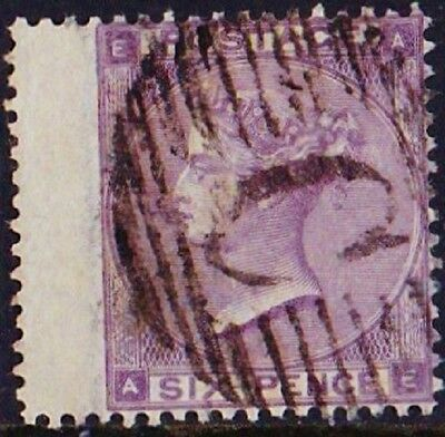 GB Used Abroad in CONSTANTINOPLE British Levant C  6d. lilac