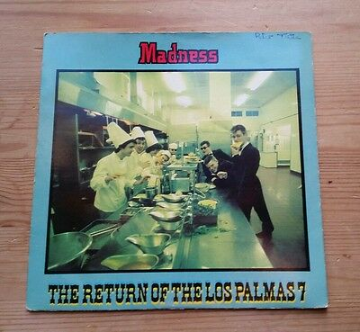 """""""Return Of The Los Palmas 7"""" (1980) by Madness on 7"""" Very Rare Ruby Red Vinyl"""