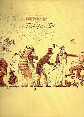 Genesis - A Trick of the Tail - The Famous CharismaLabel 1976 - vinyl LP Ex /con