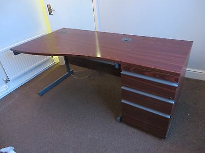 Office table and Pedestal