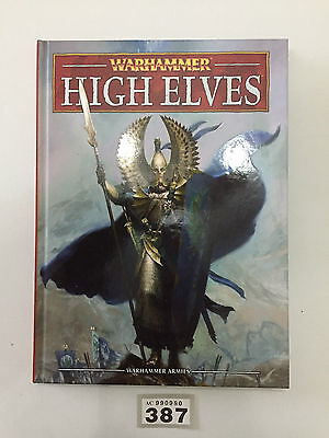 Warhammer Armies 8Th Edition High Elves Army Book Hardback Great Condition