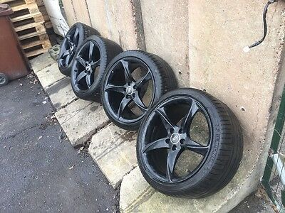 Audi 19inch Alloy Wheels With Good Tyres