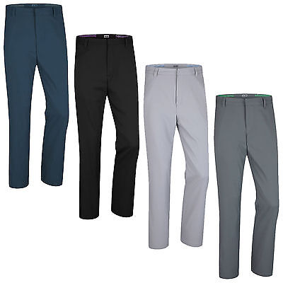 Adidas Mens Puremotion Stretch 3-Stripe Golf Trousers - New Classic Pant Sizes