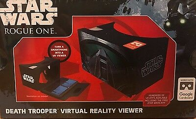 Star Wars Rogue One Death Trooper V R Viewer Smart Phone to VR View *NEW*