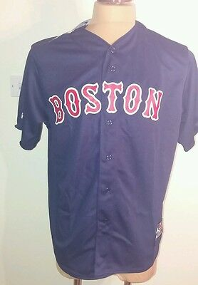 New MLB Baseball Boston Red Socks Jersey / Top Size X L.